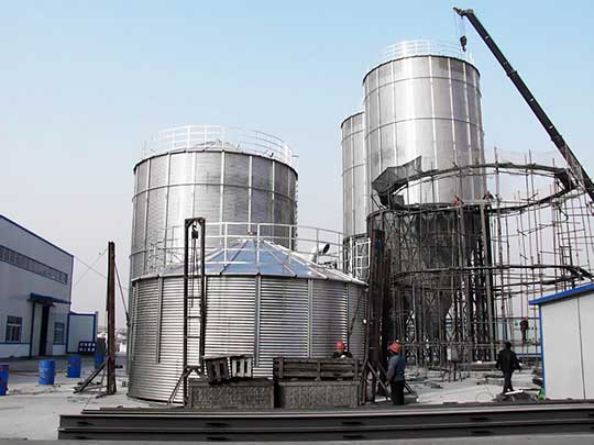 installation-of-fly-ash-silos